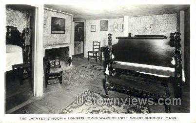 Longfellows Wayside Inn - South Sudbury, Massachusetts MA Postcard