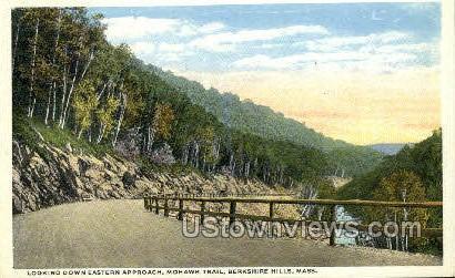 Mohawk Trail - Berkshire Hills, Massachusetts MA Postcard