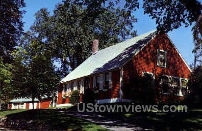 Red House - Cape Cod, Massachusetts MA Postcard
