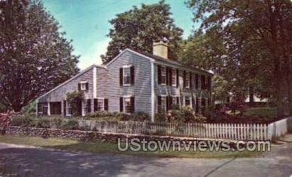 Salt Box House - Cape Cod, Massachusetts MA Postcard