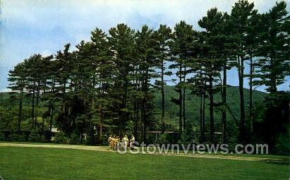 Berkshire Music Center - Lenox, Massachusetts MA Postcard
