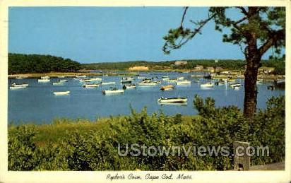 Ryder''s Cove - Cape Cod, Massachusetts MA Postcard