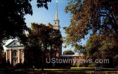 First Baptist Church - Worcester, Massachusetts MA Postcard