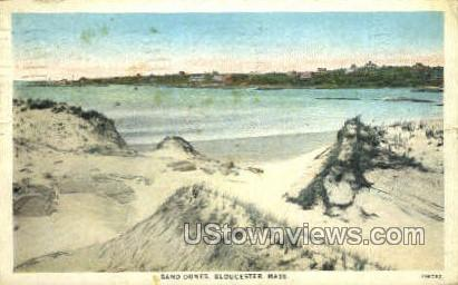 Sand Dunes - Gloucester, Massachusetts MA Postcard