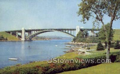 A Piatt Andrew Bridge - Gloucester, Massachusetts MA Postcard