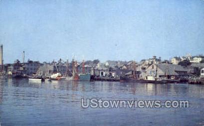 Inner Harbor - Gloucester, Massachusetts MA Postcard