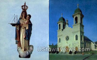 Lady of Good Voyage Church - Gloucester, Massachusetts MA Postcard