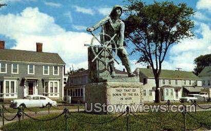 Fishermen's Permanent Memorial - Gloucester, Massachusetts MA Postcard