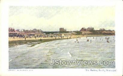 Bathing Beach - Nantucket, Massachusetts MA Postcard