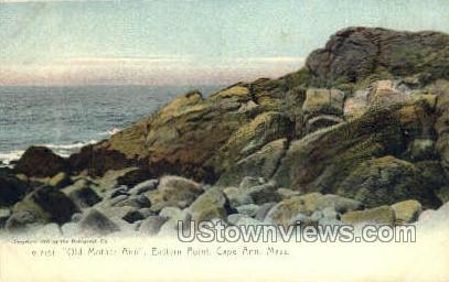 Old Mother Ann, Eastern Point - Cape Ann, Massachusetts MA Postcard