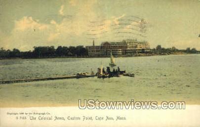 Colonial Arms, Eastern Point - Cape Ann, Massachusetts MA Postcard