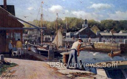 Rockport, Gloucester - Cape Ann, Massachusetts MA Postcard