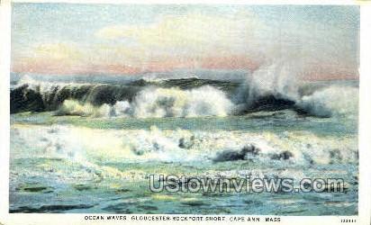 Gloucester Rockport Shore - Cape Ann, Massachusetts MA Postcard