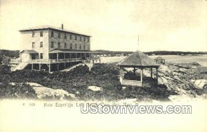Hotel Edgecliffe - Cape Ann, Massachusetts MA Postcard