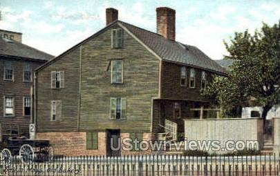Old Bakery - Salem, Massachusetts MA Postcard