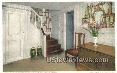 Hallway, House of Seven Gables - Salem, Massachusetts MA Postcard