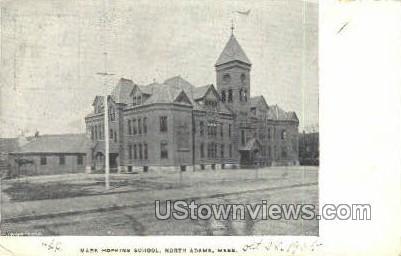 Mark Hopkins School - North Adams, Massachusetts MA Postcard