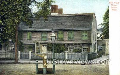 Old Witch House - Salem, Massachusetts MA Postcard