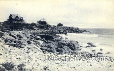 Bass Rock - Cape Ann, Massachusetts MA Postcard