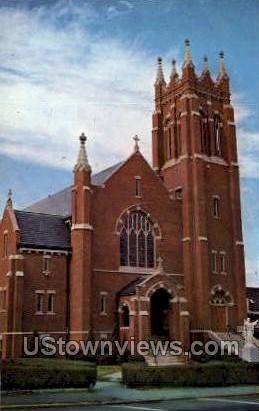Sacred Heart Church - Bradford, Massachusetts MA Postcard