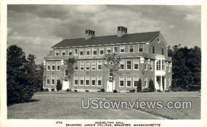 Real Photo - Hasseltine Hall - Bradford, Massachusetts MA Postcard