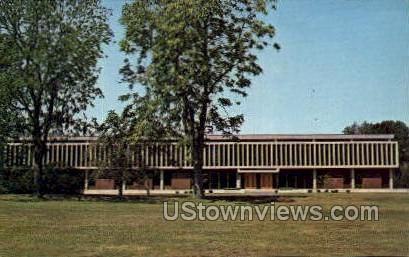 Library & Arts Study Center - Bradford, Massachusetts MA Postcard