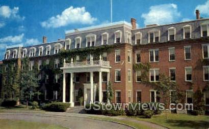 Academy Hall, Bradford Junior College - Massachusetts MA Postcard