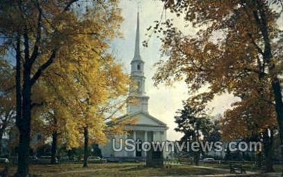 First Church of Christ - Bradford, Massachusetts MA Postcard