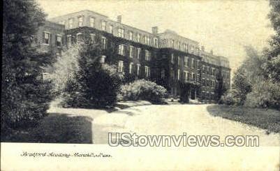 Bradford Academy - Haverhill, Massachusetts MA Postcard