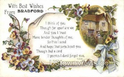 Bradford, Massachusetts     ;     Bradford, MA Postcard