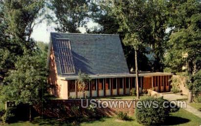 Bicknell Meditation Chapel - Bradford, Massachusetts MA Postcard