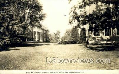 Real Photo - Bradford Junior College - Massachusetts MA Postcard