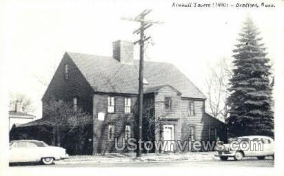 Kimball Tavern, 1690 - Bradford, Massachusetts MA Postcard