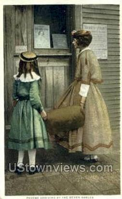Phoebe, Seven Gables - Misc, Massachusetts MA Postcard