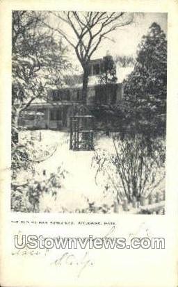 Old Holman Homestead - Attleboro, Massachusetts MA Postcard