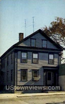 Lizzie Borden, Murder - Fall River, Massachusetts MA Postcard