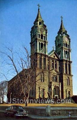 Notre Dame De Lourdes - Fall River, Massachusetts MA Postcard