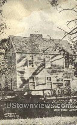 Rev Sam Parris House - Danvers, Massachusetts MA Postcard