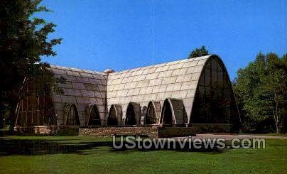 Chapel of the Holy Spirit - Worcester, Massachusetts MA Postcard