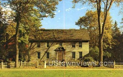 Indian Mission House, 1739 - Stockbridge, Massachusetts MA Postcard