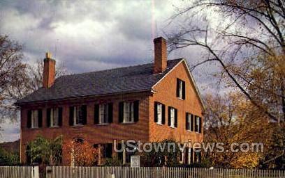 Wright House - Deerfield, Massachusetts MA Postcard