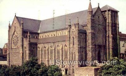 Immaculate Conception Church - Lowell, Massachusetts MA Postcard