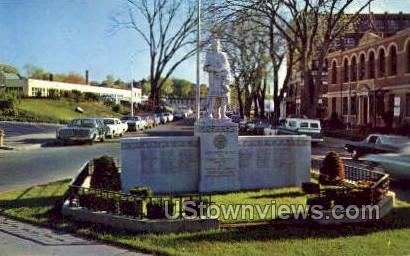 United Italian American Veterans Memorial - Springfield, Massachusetts MA Postcard