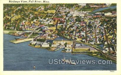 Fall River, Massachusetts     ;     Fall River, MA Postcard