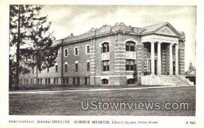 Science Museum, Liberty Square - Springfield, Massachusetts MA Postcard