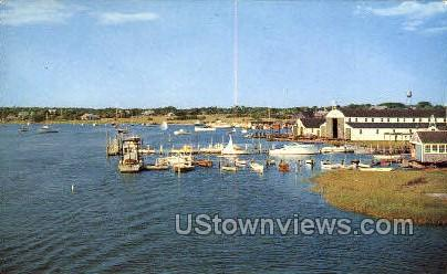 Crosby's Yacht Basin - Cape Cod, Massachusetts MA Postcard