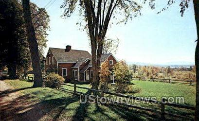 Nathaniel Hawthorne Cottage - Lenox, Massachusetts MA Postcard