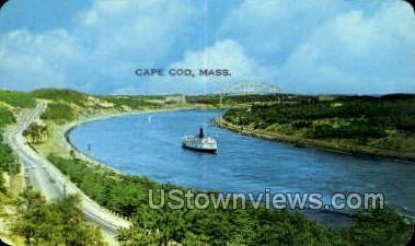 Buzzards Bay - Cape Cod, Massachusetts MA Postcard