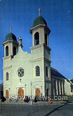 Lady of Good Voyage Church - Misc, Massachusetts MA Postcard