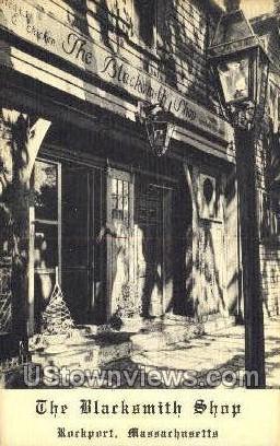 Blacksmith Shop - Rockport, Massachusetts MA Postcard